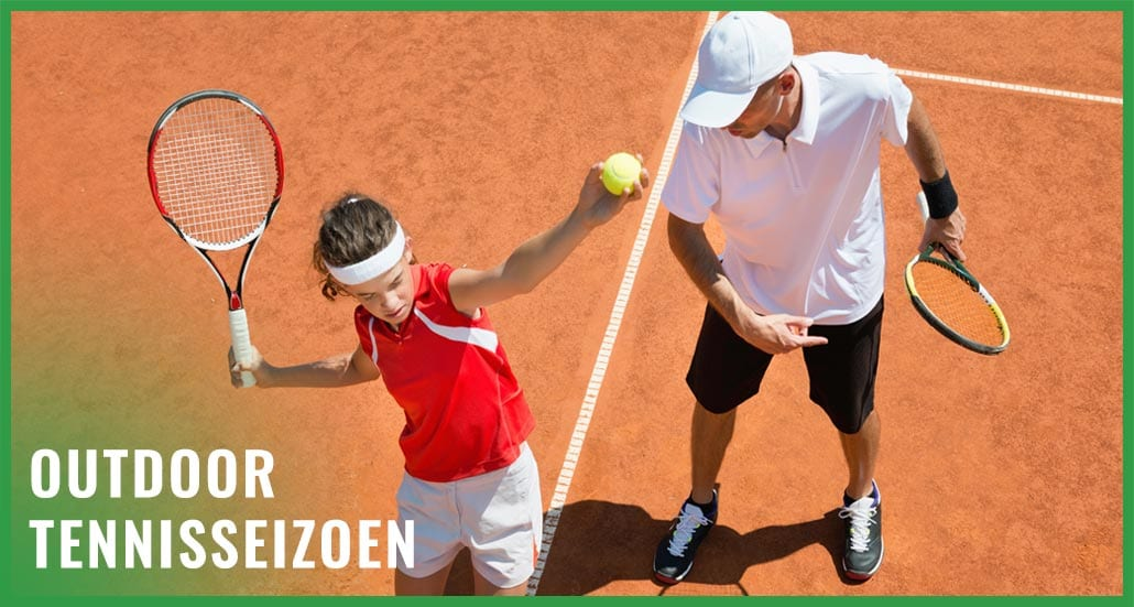 Outdoor tennisseizoen